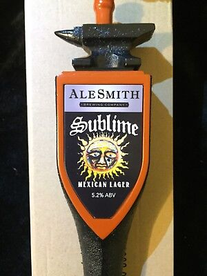 NEW Sublime Tap Handle Mexican Lager AleSmith Brewing Co. ~ San Diego, CA