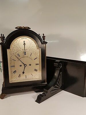Antique James Moore and Son Clarkenwell London Twin Fusee Bracket Clock,