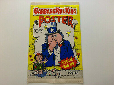 1986 USA Garbage Pail Kids Poster WRAPPER (0-588-15-01-6)