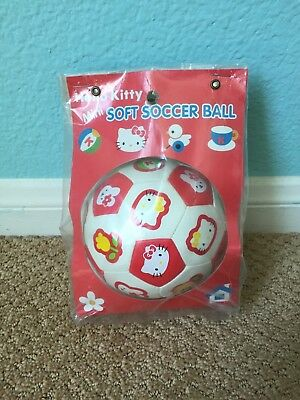 Hello Kitty miniature soft soccer ball / Sanrio New in package / Rare