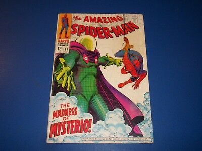 Amazing Spider-man #66 Silver Age Mysterio Solid VG