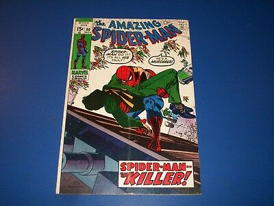 Amazing Spider-man #90 Bronze Age Death of Captain Stacy Key