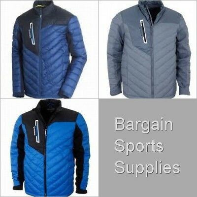 Sunice Franz Mens Insulated Thermal Golf Jacket 2017 Full Zip