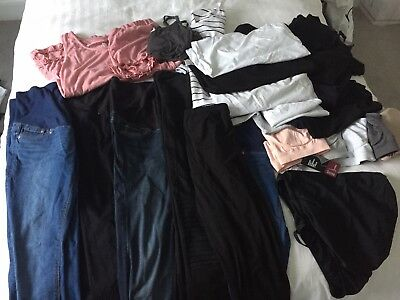 H And M, ASOS, Mamas And Papas Etc maternity clothes size 12-14