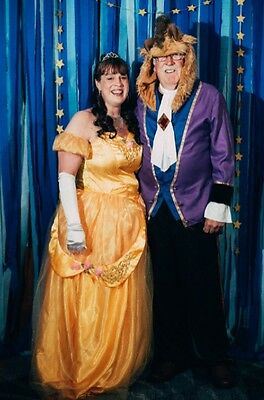Beauty and Beast Halloween Costume for Couple