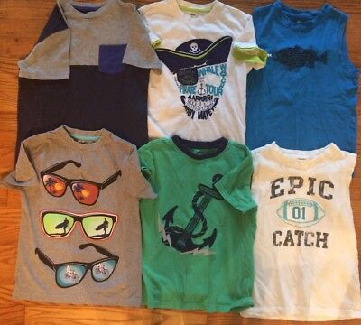 Boys Size 8 Shirt Lot Gymboree