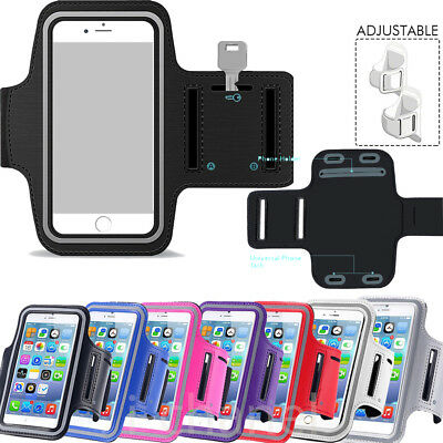 Sports Running Jogging Gym Armband Strap Case Holder For iPhone XS MAX XR 8 7