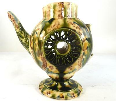 18Th Century British Whielden Type Glaze Tea Coffee Pot Jug Rare Form