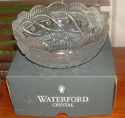 """Waterford 8"""" Apprentice Bowl / New In A Box"""