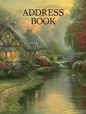 Lang Address Book ~ Thomas Kinkade ~ A Quiet Evening ~ 3-ring Binder 1013242
