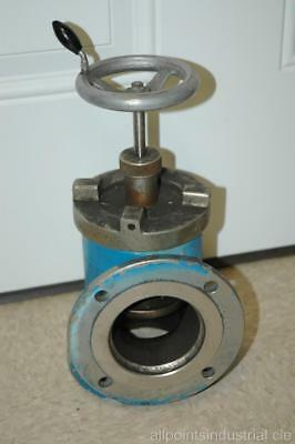 "Manual Operation 3"" Stainless Steel Right Angle Vacuum Valve - Steam Punk"