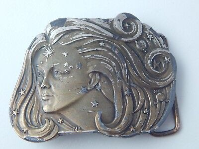 Vintage Lord of The Rings Belt Buckle 1975 Arwen Belt Buckle LOTR Collectibles