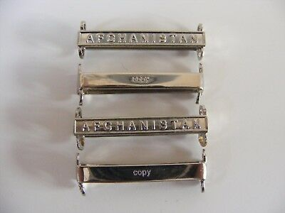 4x Afghanistan Operational Service medal Full Size Copy Clasp (OSM bar)