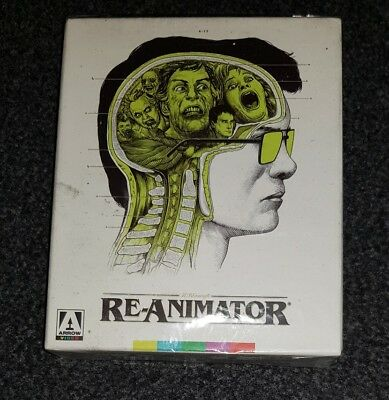 Re-Animator Arrow Limited Edition Blu Ray 2 Disc Region All New Sealed OOP