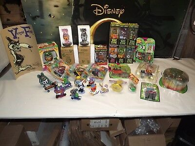 Huge Lot Of New & Vintage Rat Fink Items ** Many Are In Packges, Many Rare Items