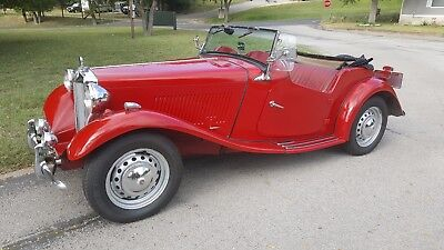 1952 MG T-Series Roadster 1952 MG TD Roadster