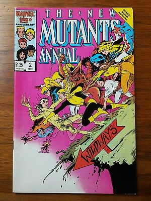 The New Mutants Annual #2 (Jan 1986, Marvel) VF/NM