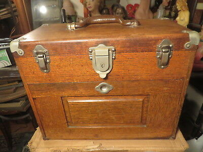 Antique Gerstner Toolbox    Gorgeous wood piece   Must see!