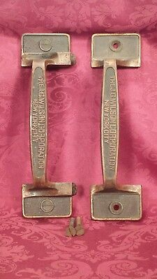 "Antique  Commercial  ""The J.G. WILSON CORPORATION""  New York City Door Handles"