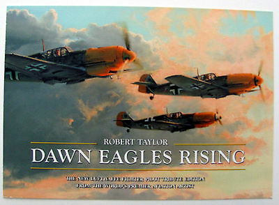 Robert Taylor – Dawn Eagles Rising - Advertising Brochure