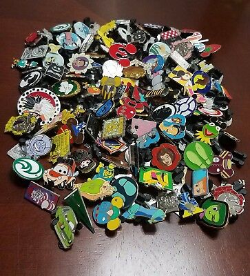Disney Pin Trading Lot of 25 Assorted Pins - No Doubles - Tradable