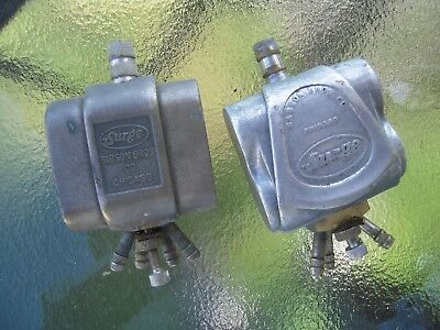 Pair of Surge Babson Bros Regulators Pulsators for Milk Bucket