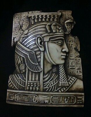 Ancient Egyptian stone carved of king ramses ii