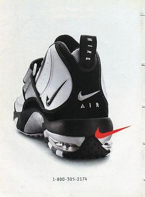 Vintage Print Ad For Nike Air Shoe Ready To Be Framed Or Great Gift!