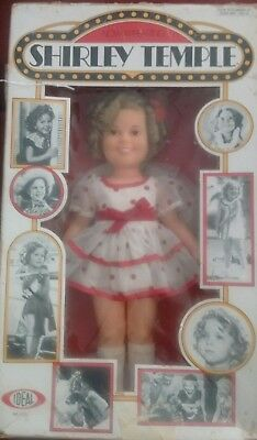 RARE Vintage SHIRLEY TEMPLE Doll Ideal - 'Now Appearing' No.1125 - 1973  NEW