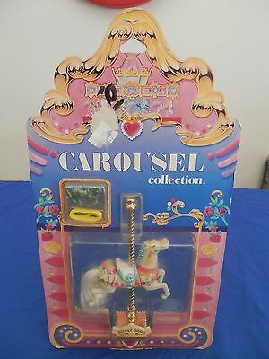 Retro Vintage Matchbox Carousel Collection Horse SILVER DAWN