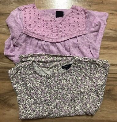 Lot Of 2 Baby Gap Tops, Toddler Girl, Size 4T, EUC