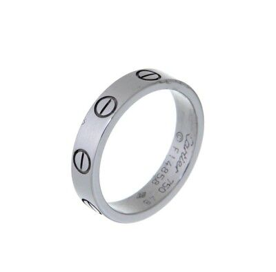 Cartier LOVE RING IN WHITE GOLD, 48 J7742