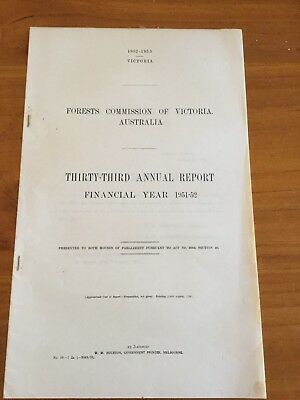 Forests Commission Of Victoria - Victoria - 1953