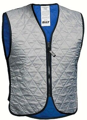Evaporative COOLING VEST as-new 2XL by BiLT. Great for summer rides