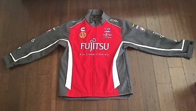 V8 Supercar Fujitsu Racing Team / GRM Racing Team Jacket - Size 5XL