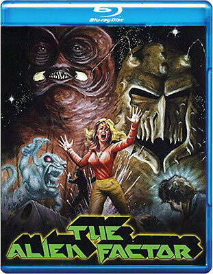 THE ALIEN FACTOR + BIOHAZARD + SCALPS Signed BLU-RAY Limited 3 PAK Fred Olen Ray