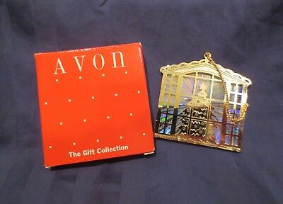 Avon Christmas Reflections Ornament - Christmas Scene - With box