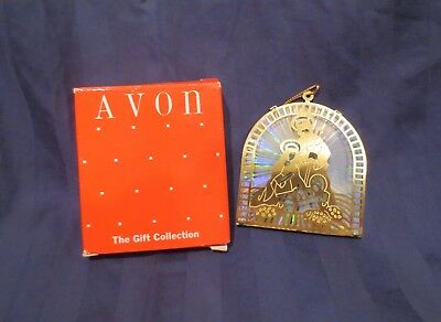 Avon Christmas Reflections - Nativity Scene - Collectible Ornament in Box