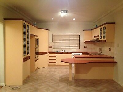 Used Kitchen In Good Condition With Large Bench!!!!