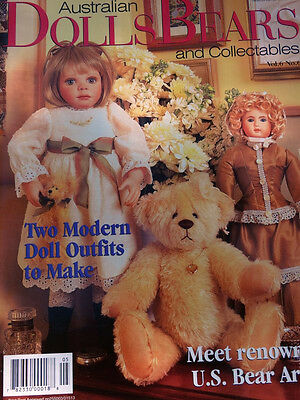 Dolls Bears and Collectables Magazine, Vol 6 No 6