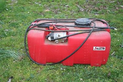 Silvan 100 litre spray tank