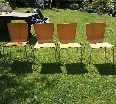 Vintage/ Retro 1960s stackable dining chairs