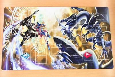 F2164+ Free Mat Bag Dark Magician Dark Magician Girl Yugioh TCG Playmat Zones