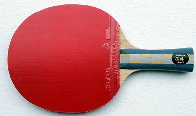 "Yasaka ""MaLin II"" ""Ma Lin II"" Carbon Layer Table Tennis Bat, Attack + Loop"