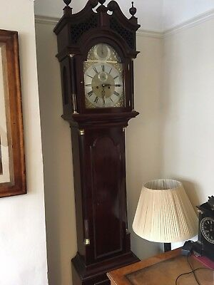 A Quality Mahogany Longcase Grandfather Clock John Dewe Of London