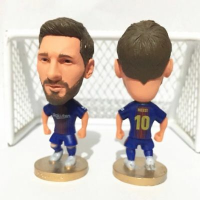 Lionel Messi Action Figure Soccer Football FC BARCELONA Cake Topper Toy Model