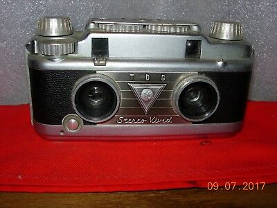 TDC Stereo Vivid camera by Bell and Howell