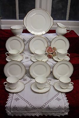 "Beautiful Vintage Duchess Tea Set 21 Piece ""Ascot"" Immaculate"