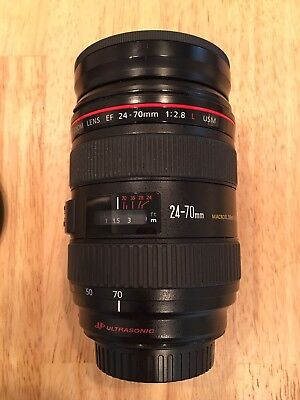Canon EF 24-70mm 1 f/2.8 Lens Great Lens!!!!