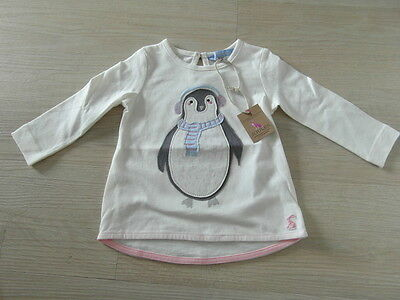 Bnwt Joules Baby Girls Top 3-6 Months